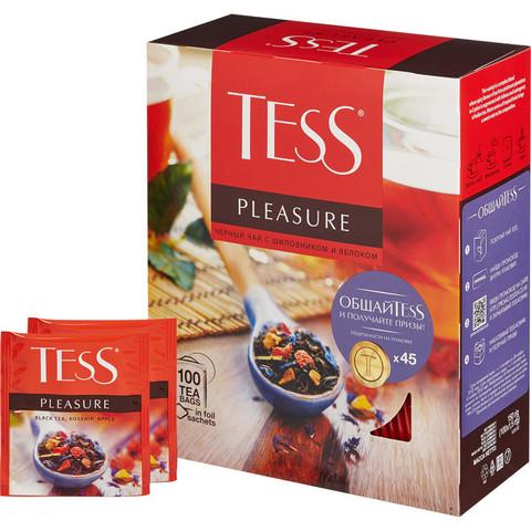 Чай TESS Плэжа черный 100 пак/уп