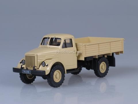 GAZ-63 beige 1:43 Nash Avtoprom