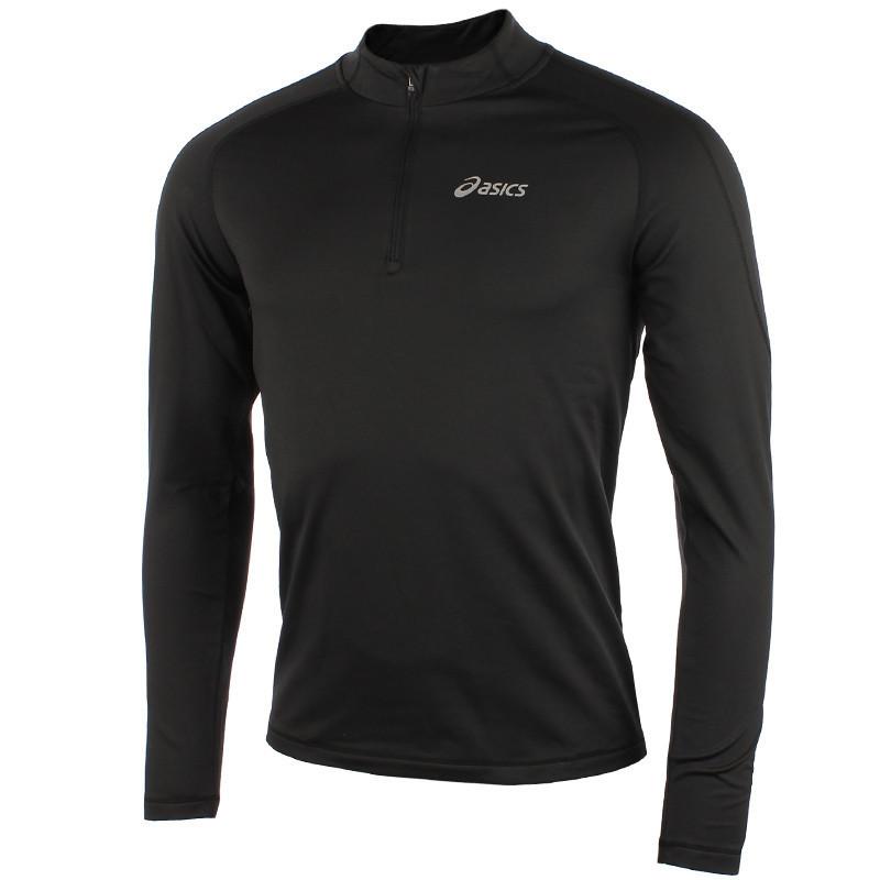 Мужская беговая рубашка Asics Ess Winter 1/2 Zip black (114638 0904)