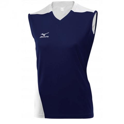 Волейбольная футболка Mizuno Trade SleeveLess женская т.синий