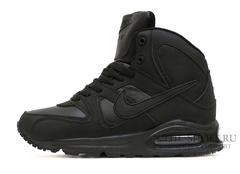 Кроссовки Женские Nike Air Max Skyline MID Black ( с Мехом)