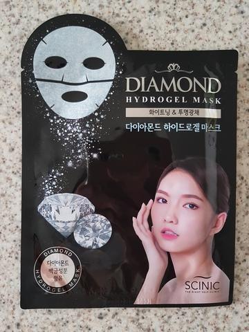 Гидрогелевая маска с алмазной пудрой и лактобактериями, 28 г / Scinic Diamond Hydrogel Mask