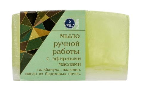 Melta Мыло ручной работы с эфирными маслами Березовое 100гр