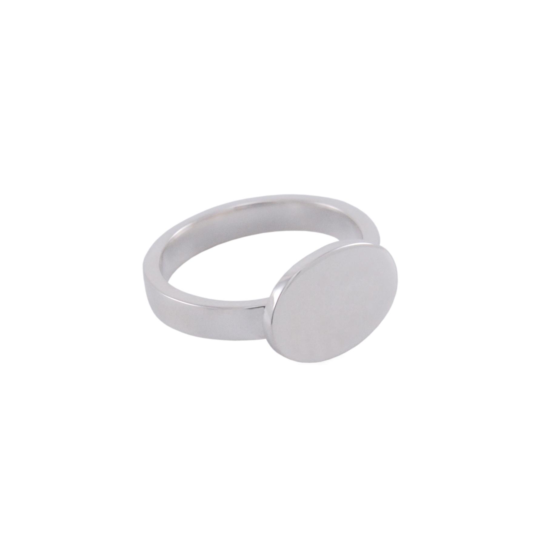 SIGNET RING I - WHITE