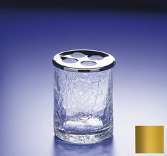 Стакан для зубных щеток Windisch 83125O Cracked Crystal