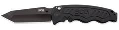 Складной нож SOG Мод. ZOOM TANTO BLACK 97249