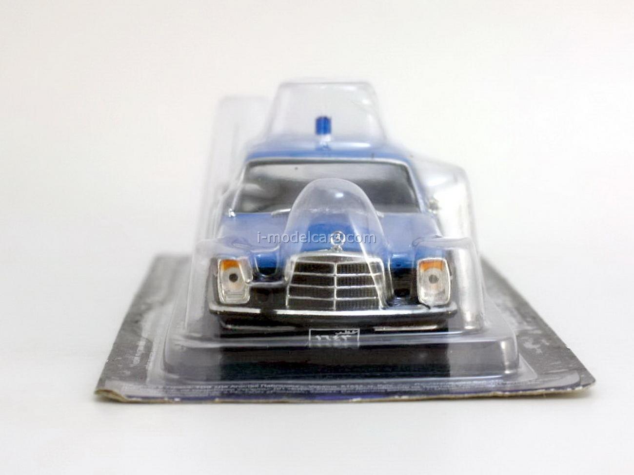 Mercedes-Benz W114 220D Qatar Police 1:43 DeAgostini World's Police Car #70