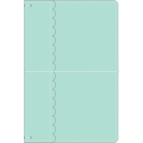 Блокнот (тревелбук) - Doodlebug Travel Planner - 14х23 см - Mint