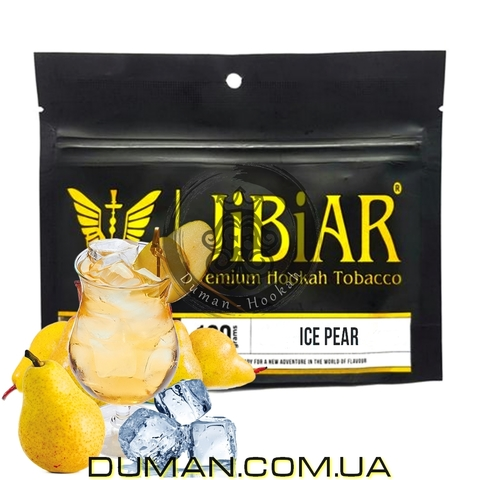Табак JiBiAR Ice Pear (Джибиар Лед Груша)