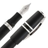 Перьевая ручка Visconti Homo Sapiens ср разм лава отд сталь перо F пал (Vs-589-99F)