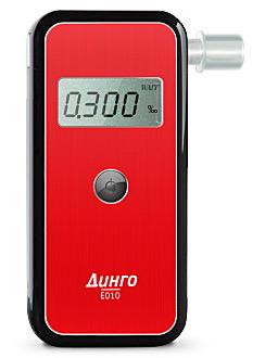 Медицинский алкотестер Динго Е-010 (без USB)