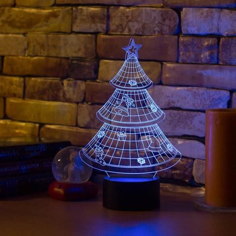 Лампа Новогодняя ёлочка