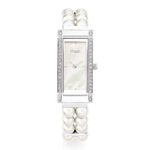 Часы наручные женские Delight Pearl White Misaki белый жемчуг