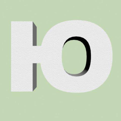 Буква Ю из пенопласта