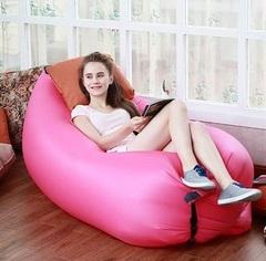 Ламзак надувной лежак-гамак