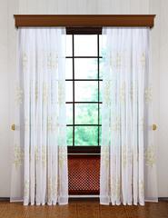 Готовая штора Верба-2 (розовая)