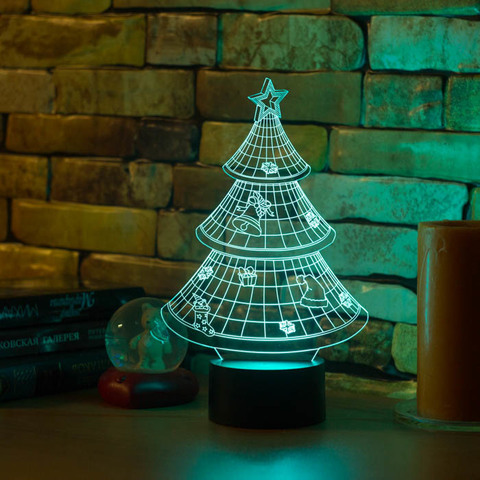 Светильник Новогодняя ёлочка