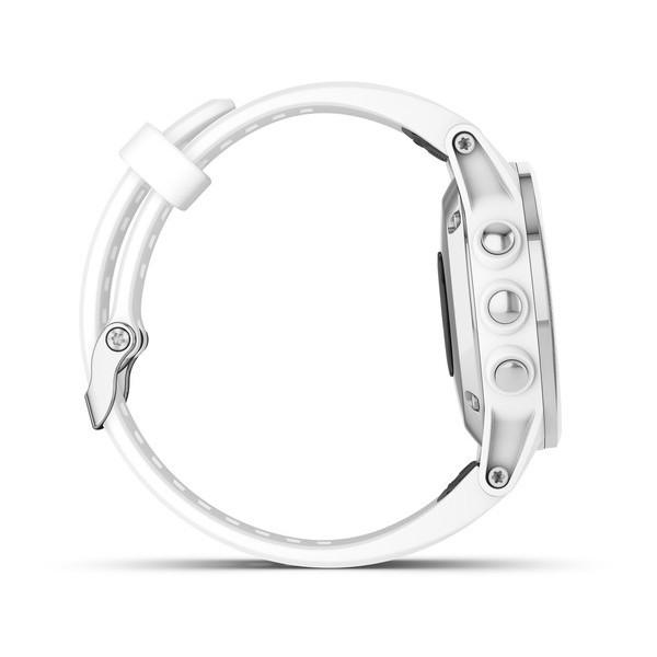 Fenix 5s Plus Sapphire белые с белым ремешком