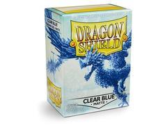 Dragon Shield - Прозрачно-голубые протекторы 100 штук