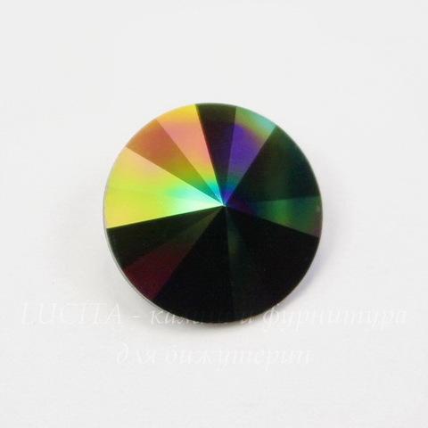 1122 Rivoli Ювелирные стразы Сваровски Crystal Rainbow Dark (12 мм)