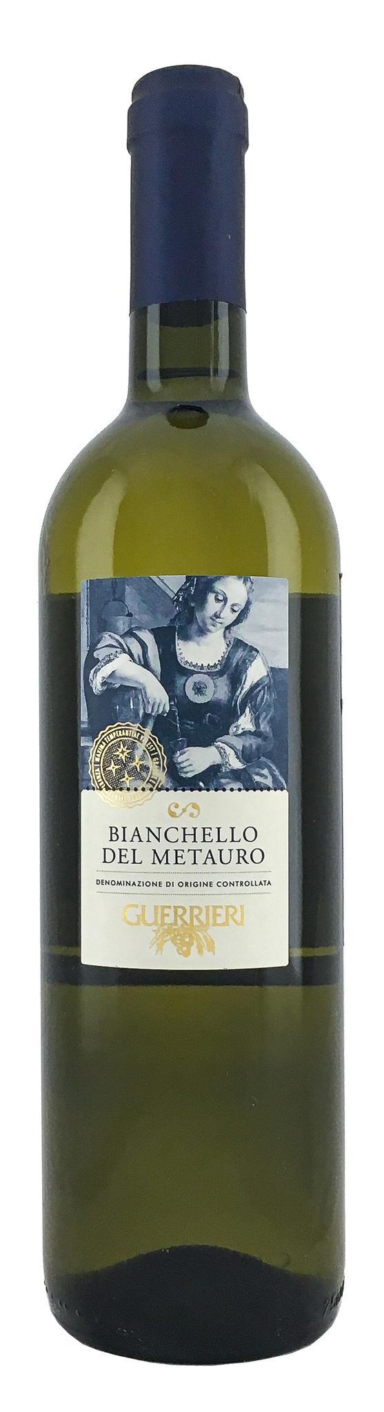 Вино Бинкело дель Метауро сухое белое з.н.м.п. кат. DOC, рег.Марке  0,75л.