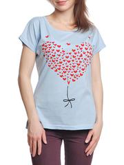 37662-3-1 футболка женская, голубая