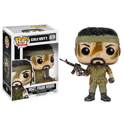 Sgt. Frank Woods Call of Duty Funko POP! Vinyl Figure || Фрэнк Фудс