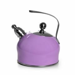 5963 FISSMAN Чайник для кипячения воды PALOMA 2,5л, цвет СИРЕНЕВЫЙ (нерж.сталь)
