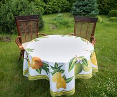 Скатерть 140x140 Blonder Home Citrus