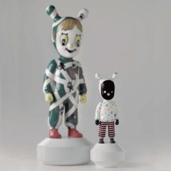 Lladro 1007285 — Статуэтка THE GUEST BY DEVILROBOTS   LITTLE