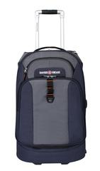 Сумка на колесах SWISSGEAR Sport Line, цвет синий/серый, 36x20x53см, 38 л