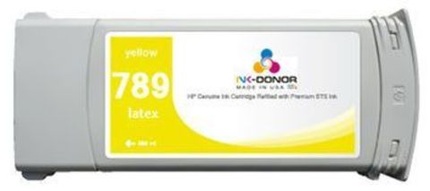 Картридж STS HP 789 Yellow Latex 775 мл для HP DesignJet 25500/26500/28500