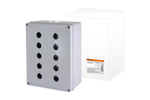 Корпус КП205 для кнопок 10мест белый TDM