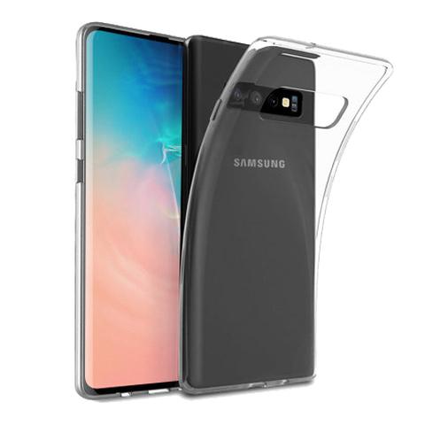 Прозрачный чехол-накладка для Samsung Galaxy S10+