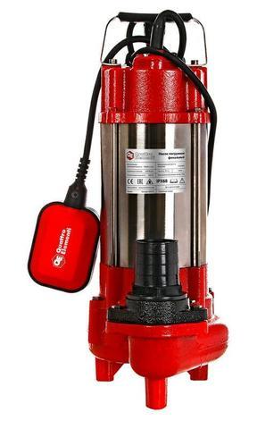 Фекальный насос QUATTRO ELEMENTI Sewage  500F Ci (500 Вт, 16000 л/ч, для грязной, 12 м, 16,0 кг)