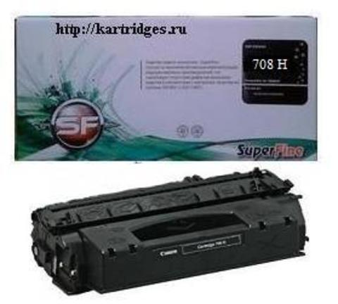 Картридж SuperFine SF-708-6K Черный (Black) для Canon CANON LBP-3300, LBP-3360