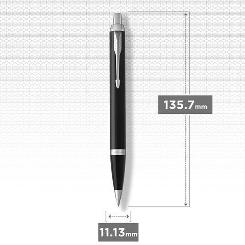 Шариковая ручка Parker IM Metal Black CT123