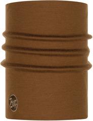 Теплый шерстяной шарф-труба Buff Wool heavyweight Solid Tundra Khaki