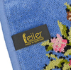 Элитная салфетка шенилловая Vienna 205 голубая от Feiler