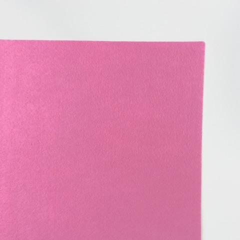 Фетр 100% полиэстэр. Цвет розовый. Размер листа  20х30 см.