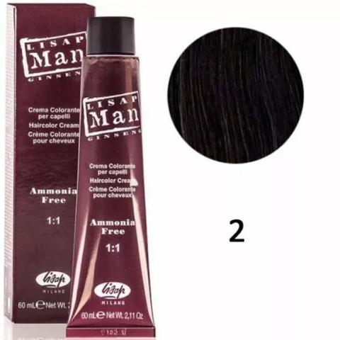 2 Мэн Лисап 60мл краска для волос