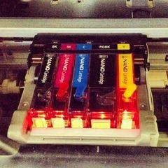 Комплект нано-картриджей для Canon iP7240, MX924, iX6840, MG5640, MG5540, MG5440, MG6640, MG6440, с чипами. (5 штук - cli-451/pgi-450)