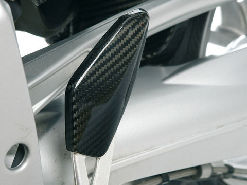 Накладка упора для ног левосторонняя BMW K1200/1300S/R/Sport карбон