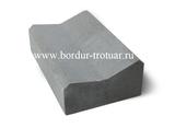 Лоток водоотводный (прикромочный) 500x300x150/120