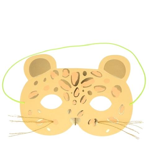 Открытка Леопардовая маска