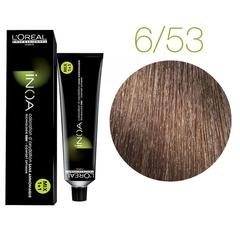 L'Oreal Professionnel INOA 6.53 ( Темный блондин махагоново-золотистый) Краска для волос 60 мл.
