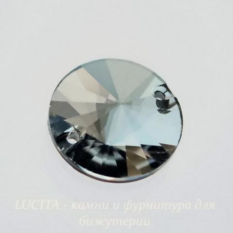 3200 Пришивные стразы Сваровски Crystal Silver Night (14 мм)