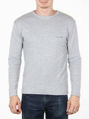 7510-9 джемпер мужской, светло-серый