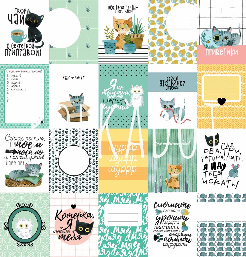 Набор карточек «Моя котя»