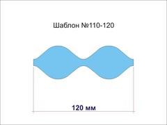 Шаблон для бантиков № 110-120 овальный